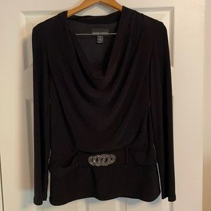 Frank Lyman belted blouse top